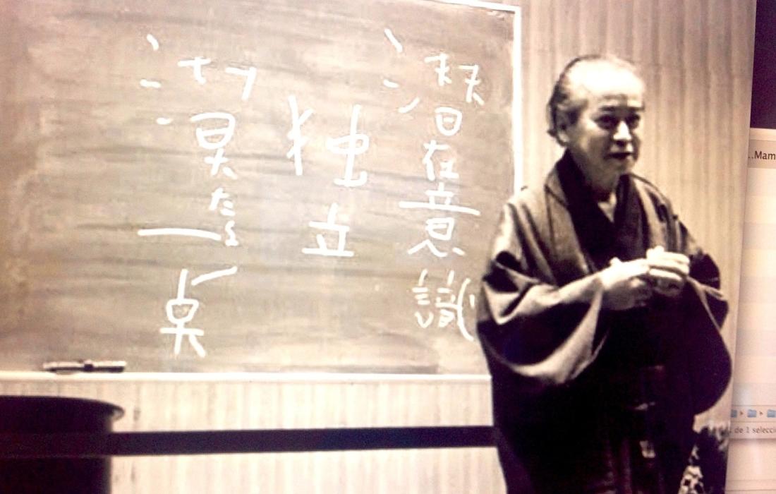 Haruchika Noguchi, el sabio en vías de reconocimiento.