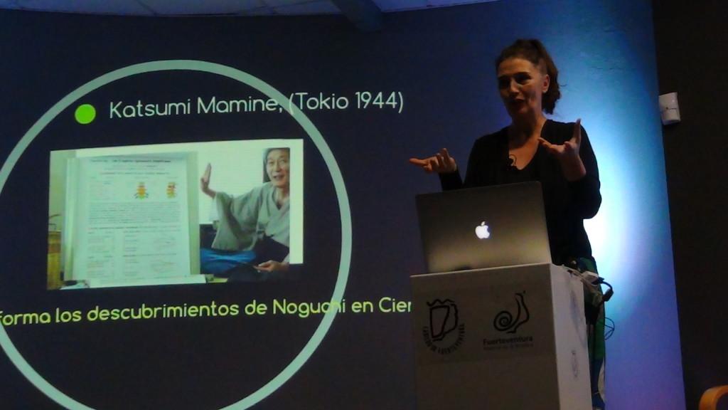 Katsumi Mamine nos ofreció unas palabras que se emitieron en directo al mundo